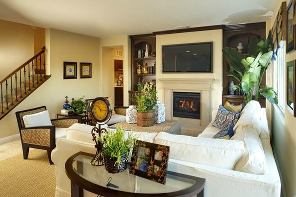 Lantana Interior Interior Design Family Room Interior Design Model Homes