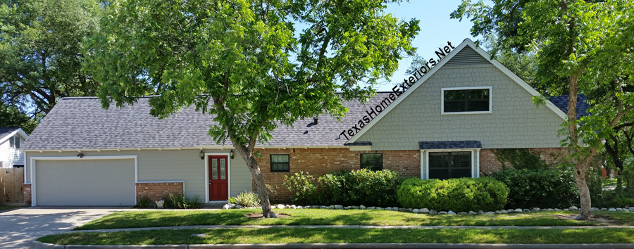 This Is The Photo After Texas Home Exteriors Installed New