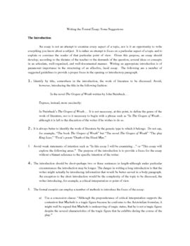 How To Write A College Essay Paper Writing The Formal Essay Sample Synthesis Essays also Process Paper Essay Writing The Formal Essay  My Style  Writing Resume Resume Writing Best Essay Topics For High School
