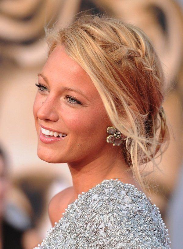 Blake Lively Leger Geflochtenes Haar Frisuren Der Stars Hochzeit