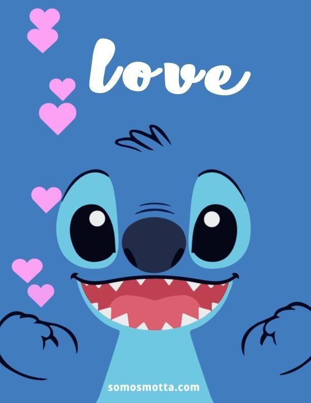 Stitch Love Animado