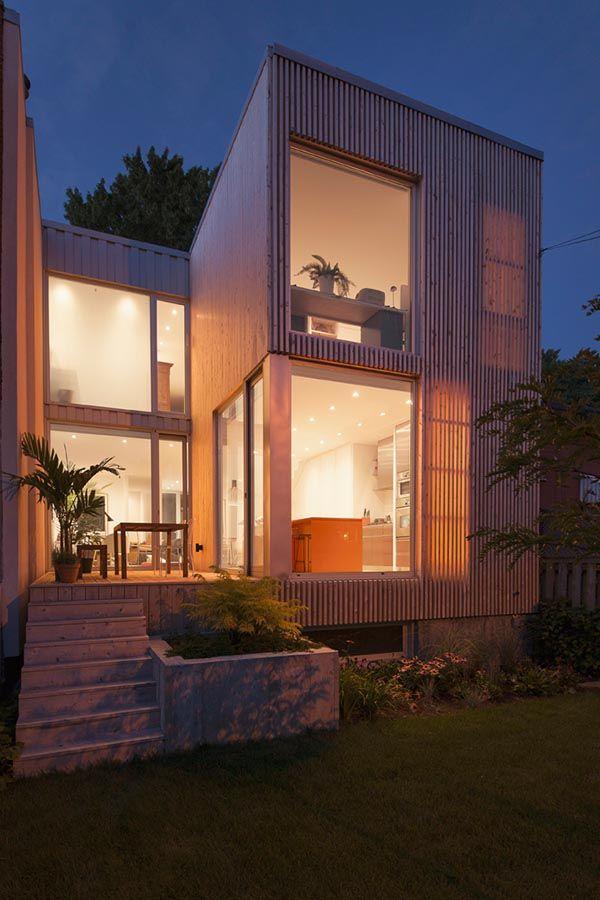 Jolie maison contemporaine au coeur de Rosemont Facades