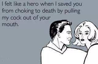 Oh, you're my hero.