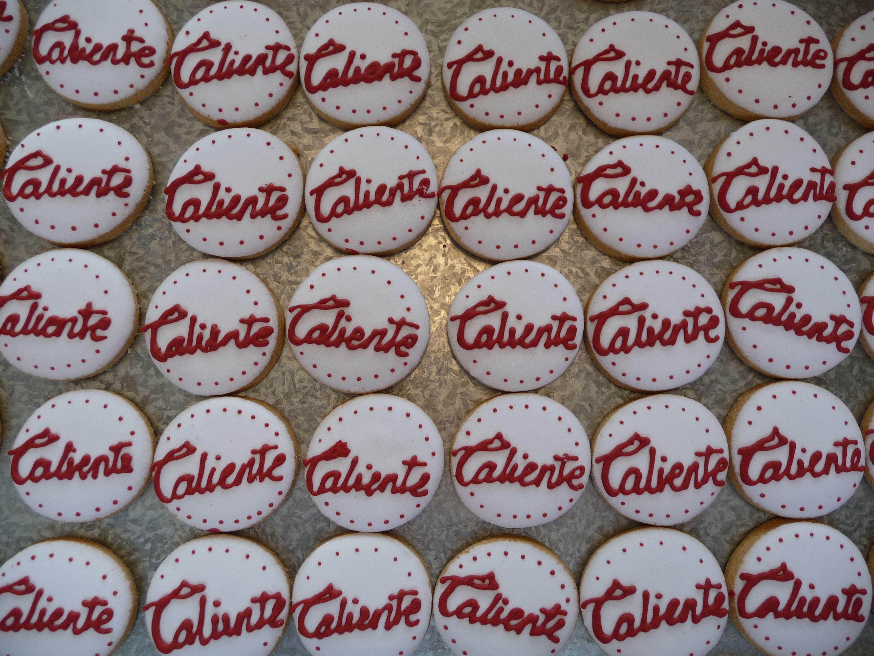 Nuestras galletas siempre son un éxito en cualquier evento corporativo!