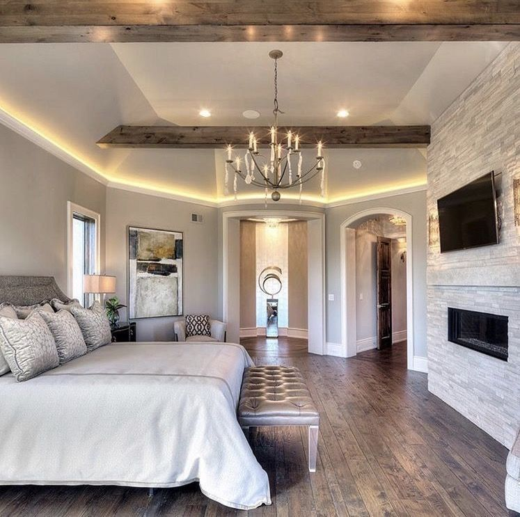 Home Sweet Home Farmhouse Style Master Bedroom Luxury