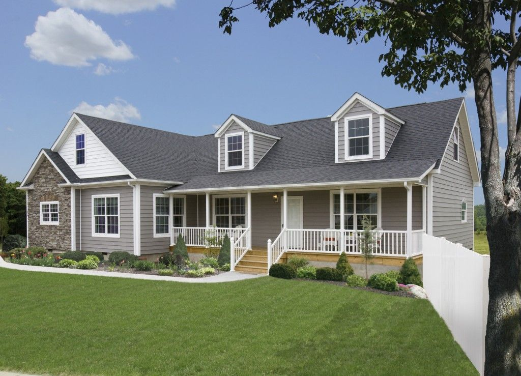 The Radford Rf511a Rockbridge Modular Home Shown With