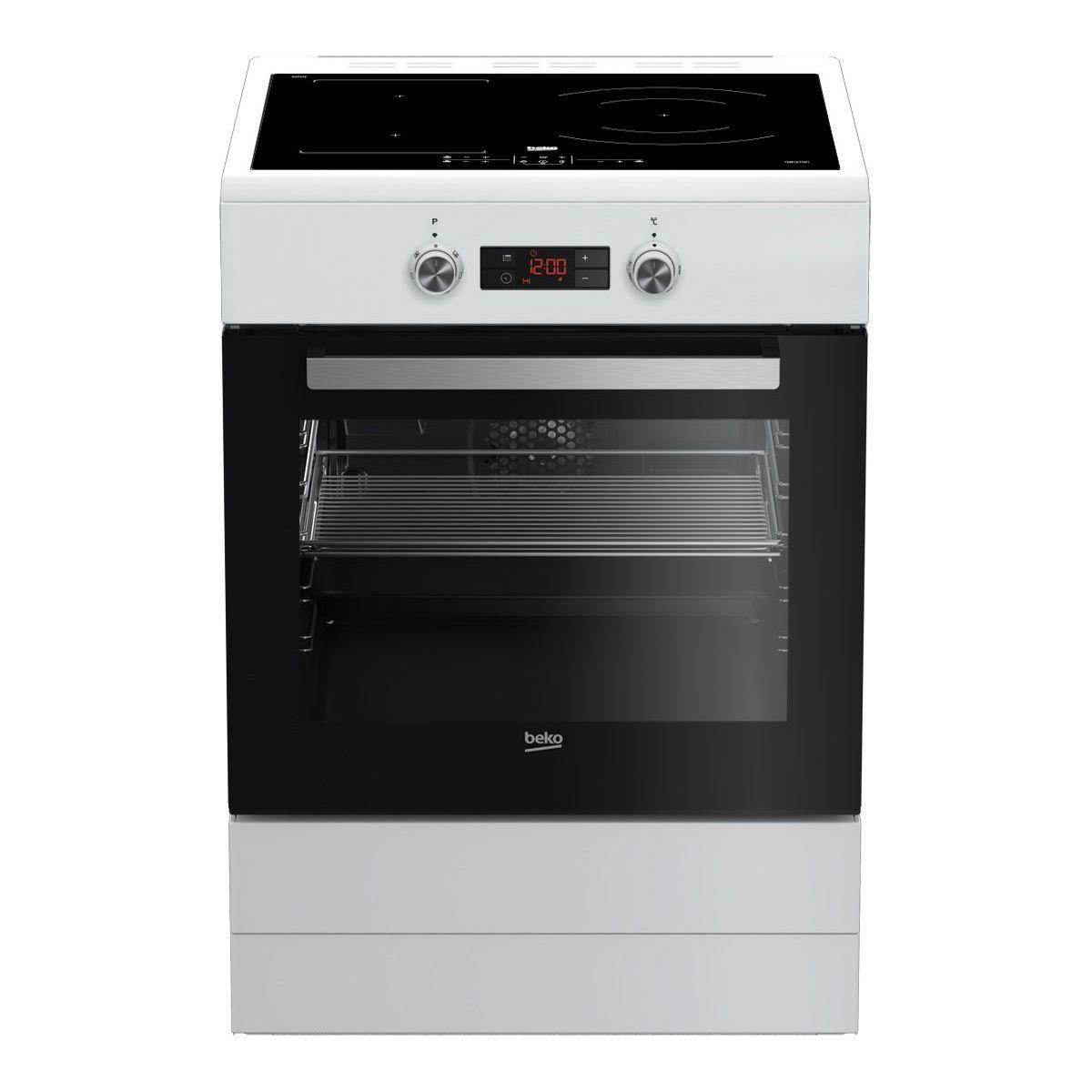 Achat Plaque Induction Pas Cher cuisinière induction beko fse68330wcs pas cher - cuisinière