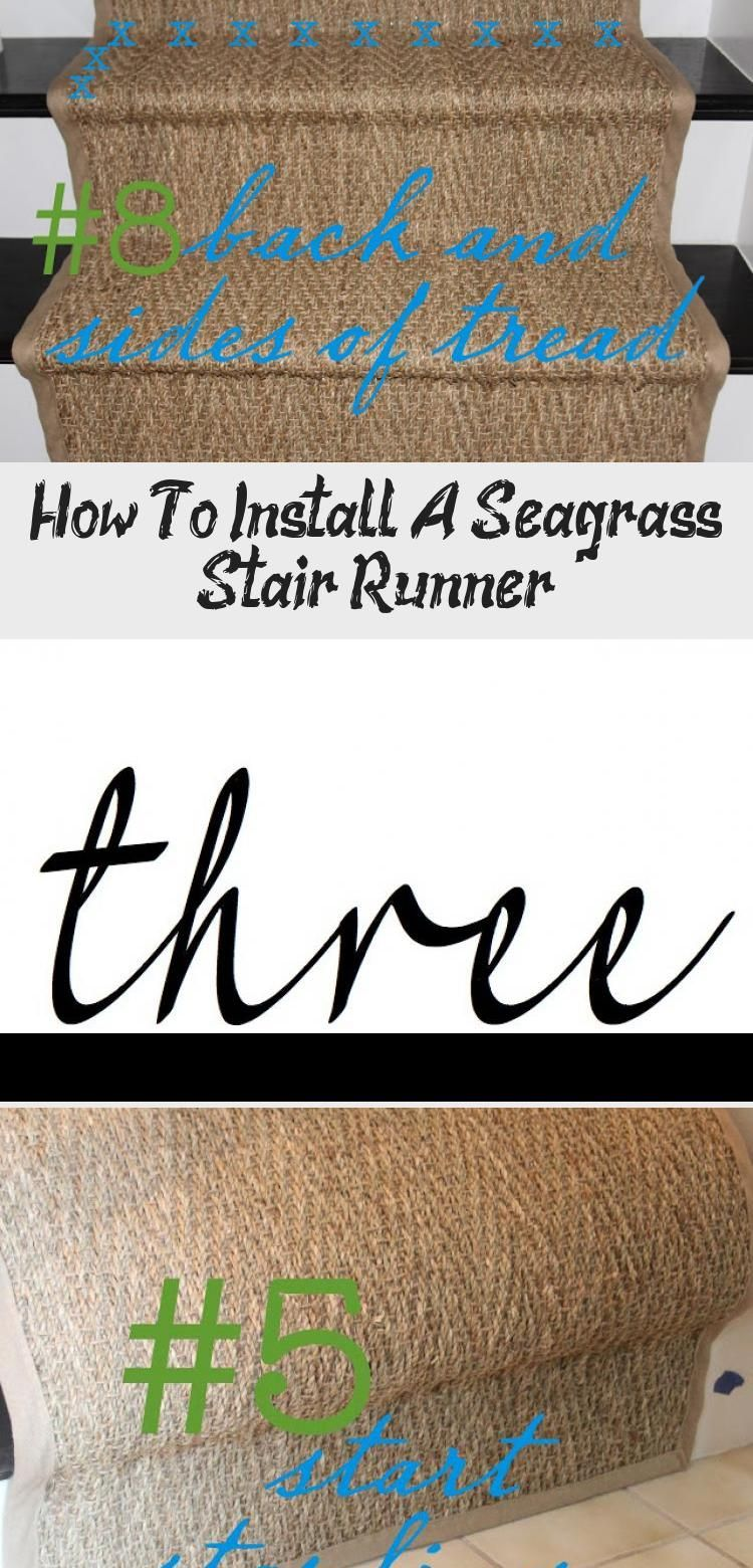 Best How To Install A Seagrass Stair Runner In 2020 Stair 640 x 480