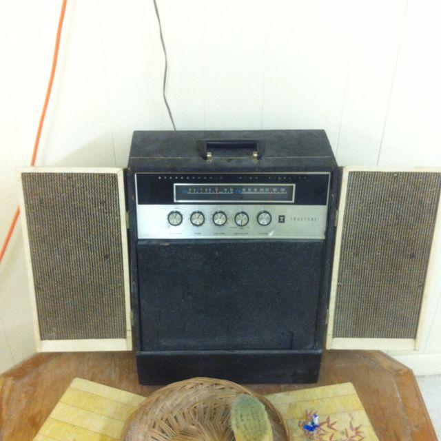 Pretty cool old radio