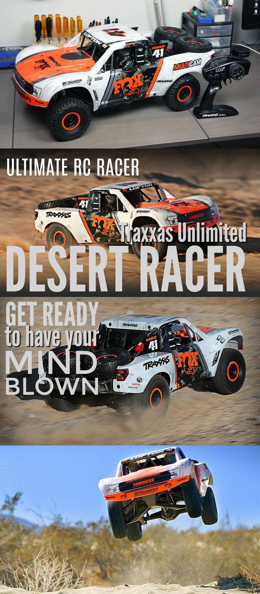Traxxas are back again with the new and spectacular