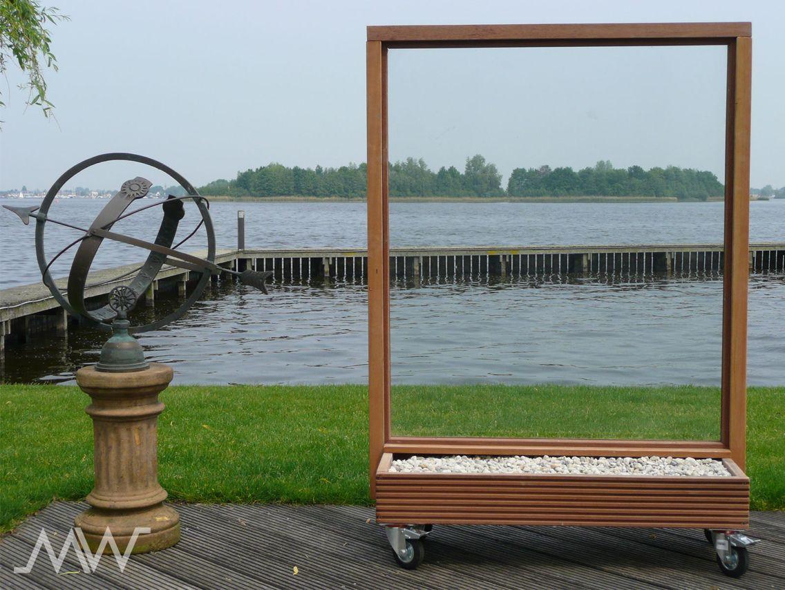 Plexiglas Windscherm Tuin : Mobiel windscherm tuin in tuin windscherm