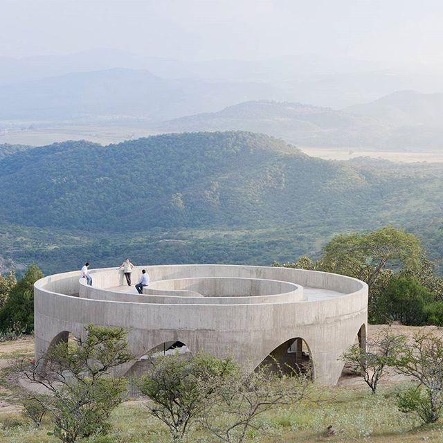 architizerOur #ProjectOfTheDay is HHF Architects' Ruta del Peregrino . . . . . . #architizer #architecture #HHFArchitects #HHF RutaDelPeregrino #Mexico #JaliscoMexico #Jalisco #Peregrino