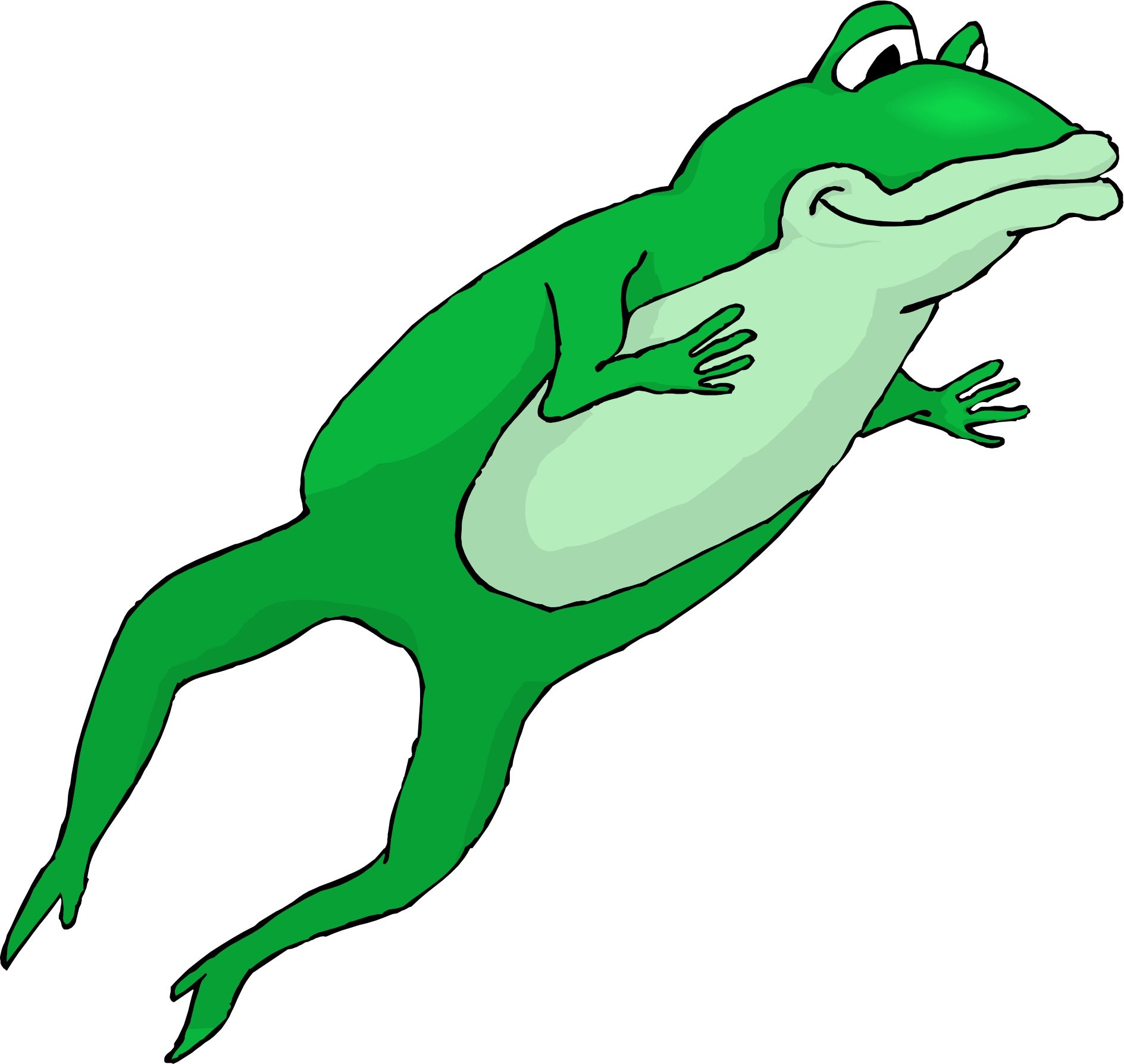image search cartoon leaping frog clipart [ 1889 x 1789 Pixel ]