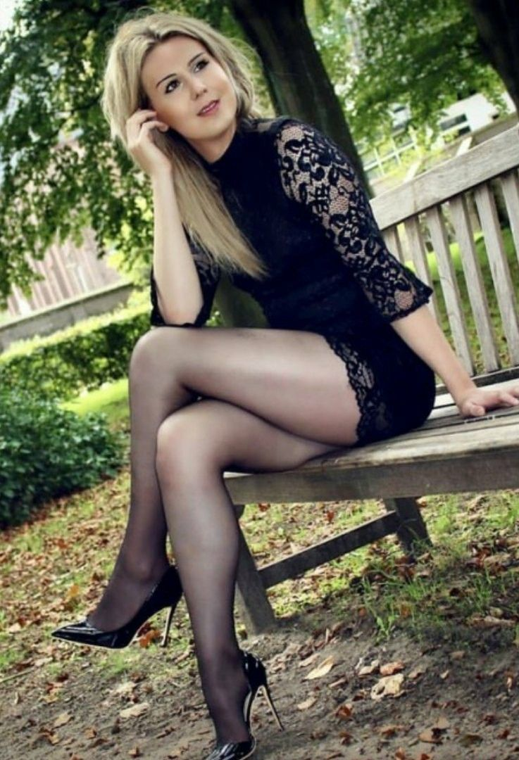 Remarkable, valuable crossed legs black stockings pantyhose tights that