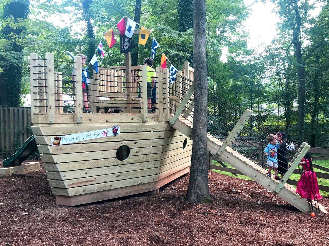 Edward Thatch Pirateship Play Plan   Play houses, Pirate ...