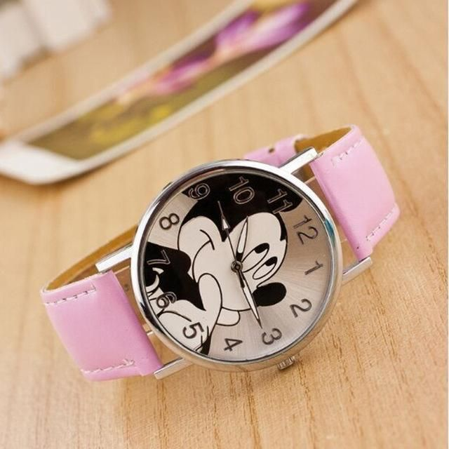 Quartz Watches Watches New Brand Retro Leather Women Watches Fashion Denim Cartoon Girl Quartz Watch Ladies Monkey Dial Wrist Watch Relogio Feminino
