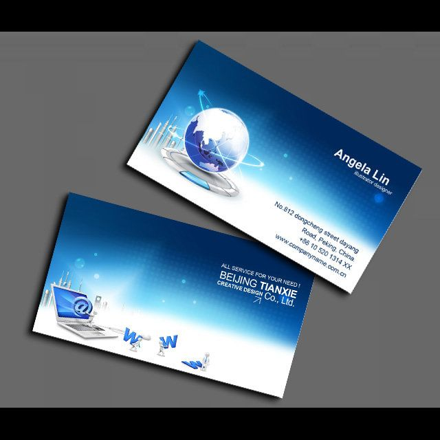 It computer business card network information card psd templates it computer business card network information card psd templates download card http wajeb Gallery