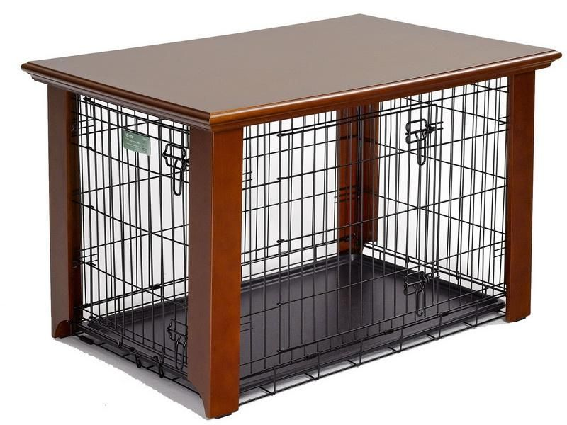 Sweet Dog Crate End Table