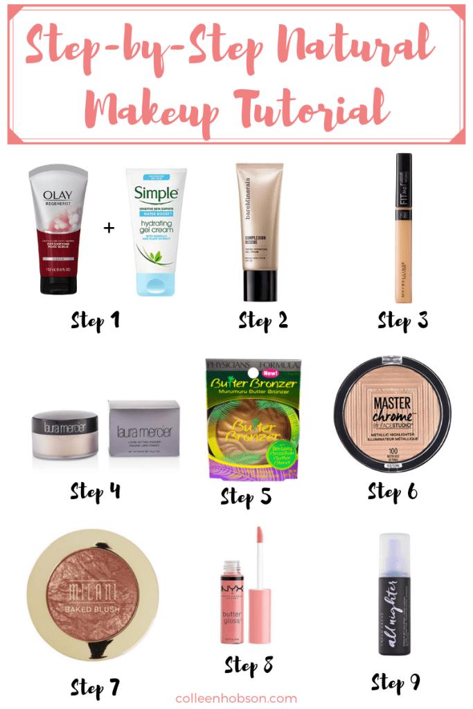 Natural Everyday Makeup Routine Natural makeup tutorial