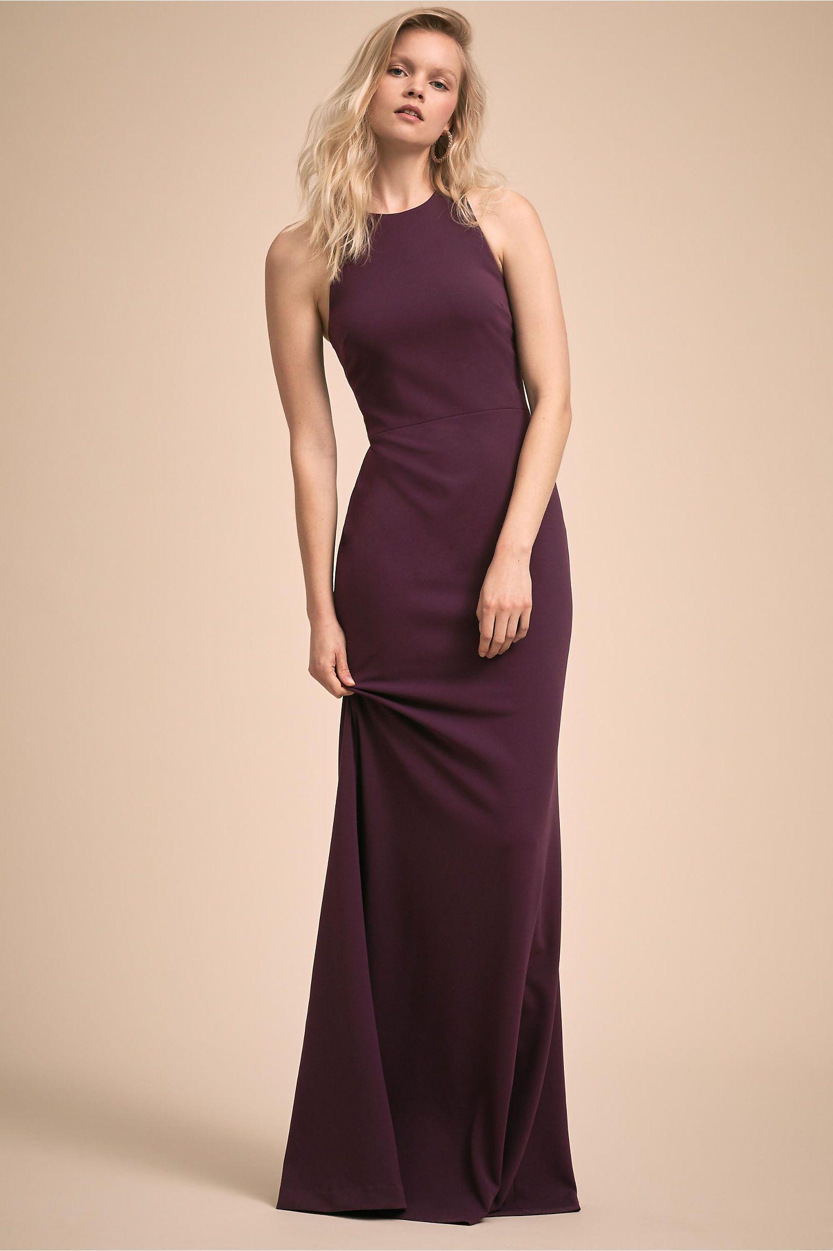 4d7dbb324f BHLDN s Klara Dress in New Plum
