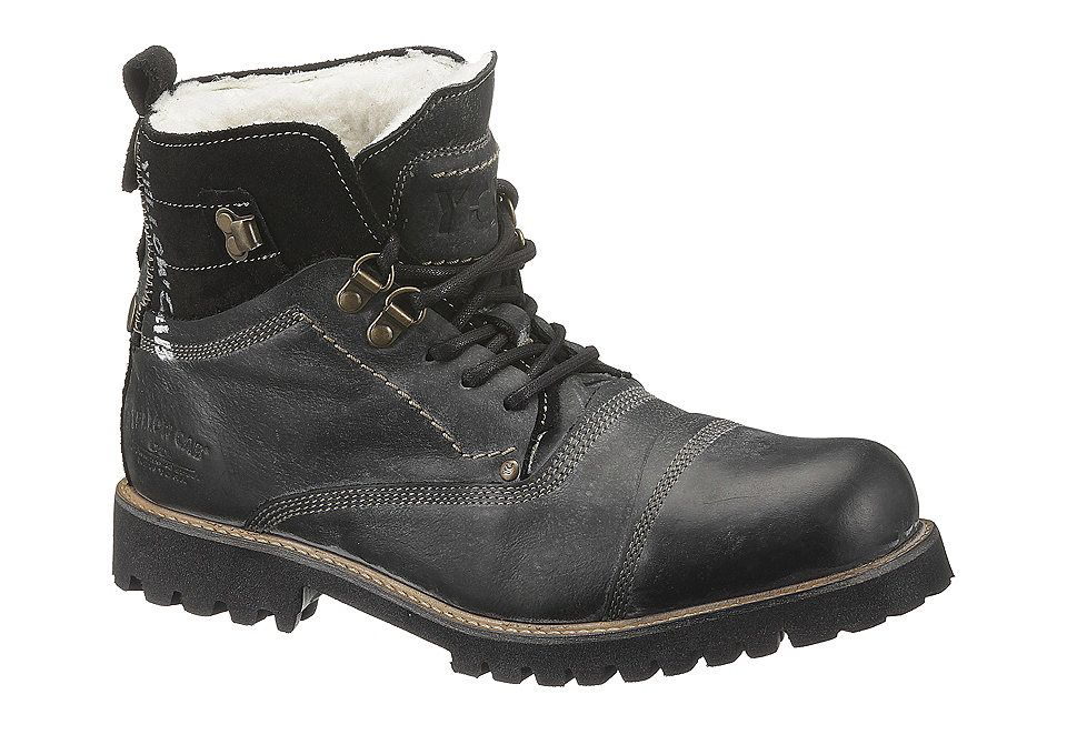 Schnurboots Yellow Cab Online Kaufen Otto Hiking Boots Combat Boots Boots