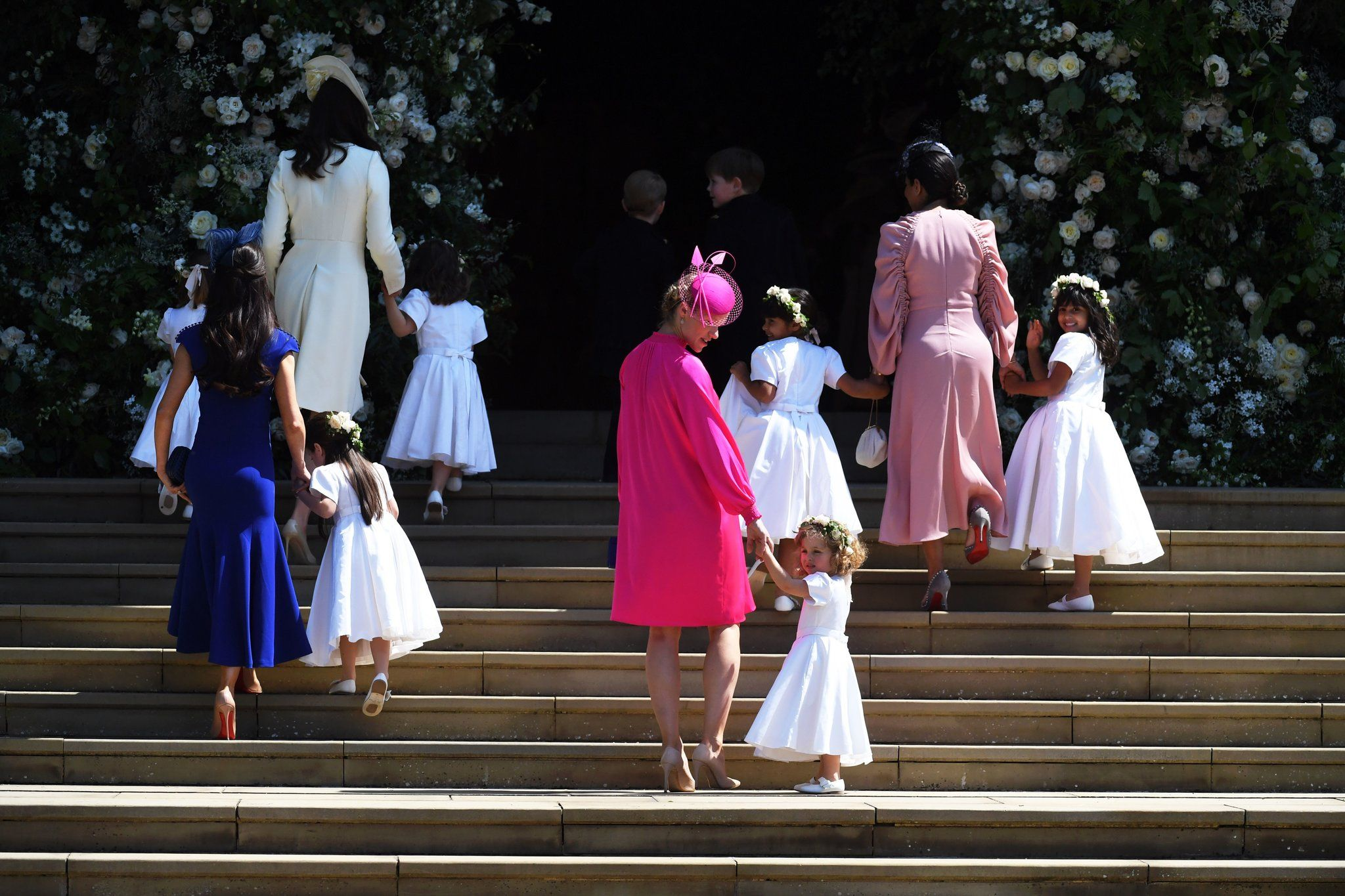 what was wrong with meghan markle flower girl dresses