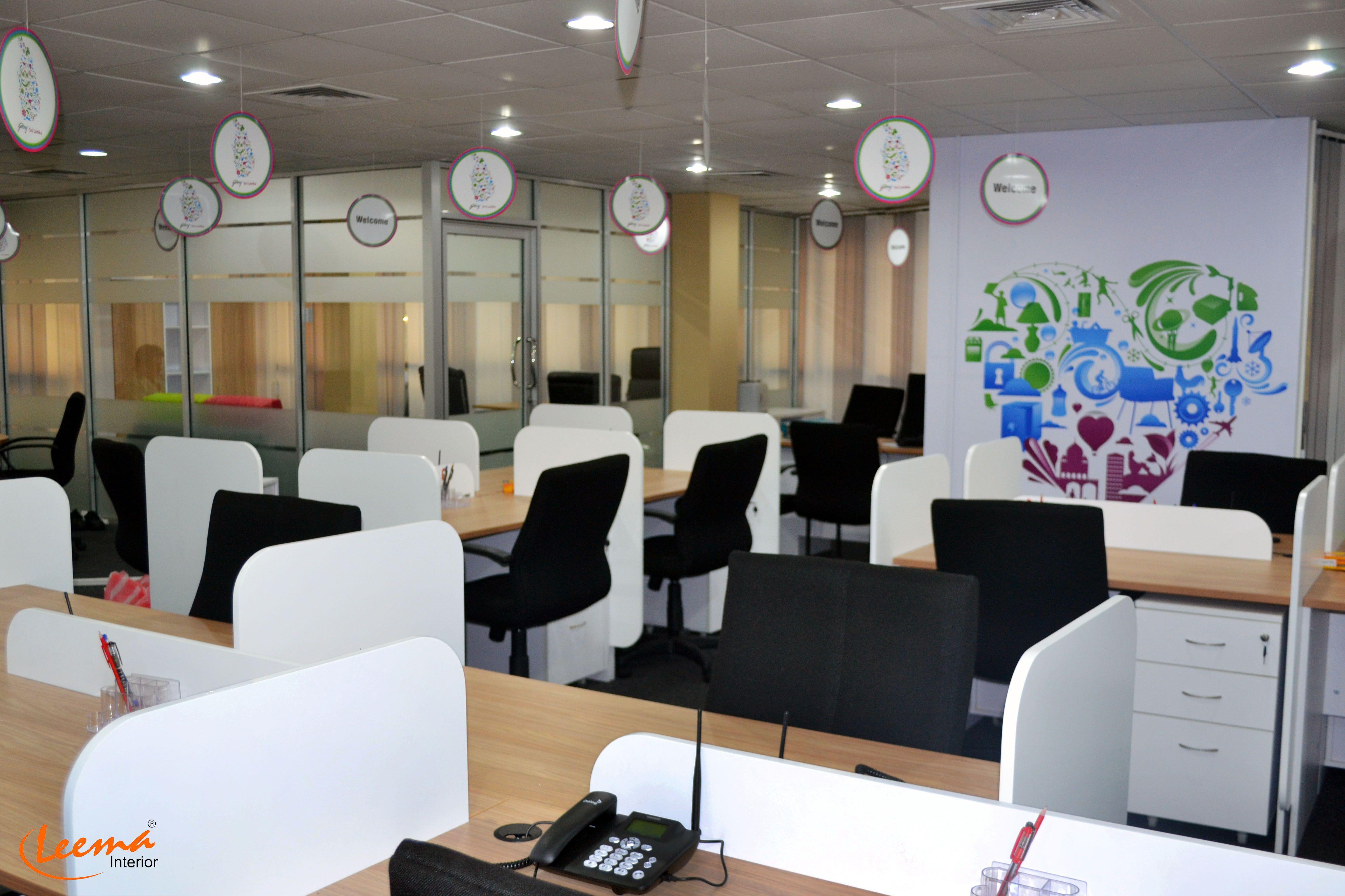 Office, Sri Lanka, Godrej, Interior Design, Interior Decoration
