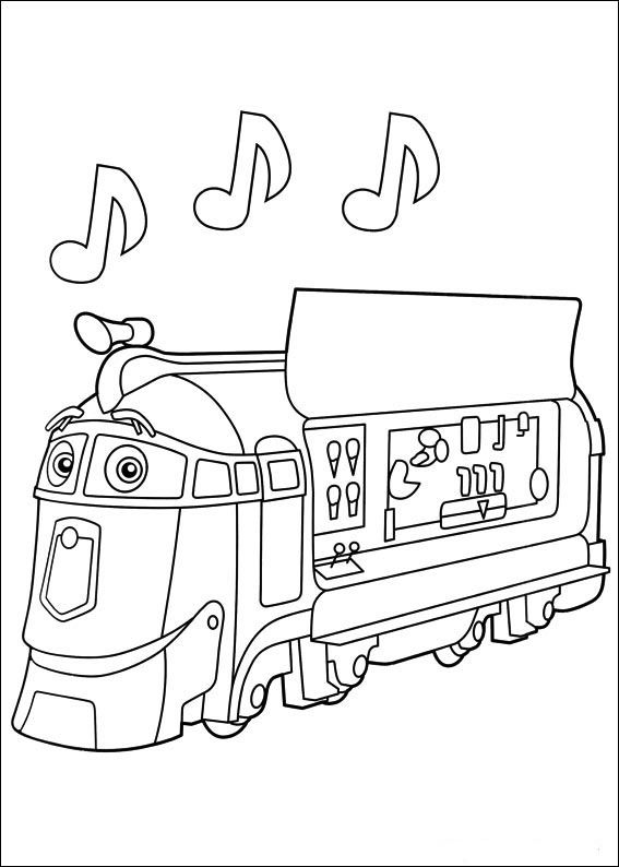 Chuggington 12 Coloring Page For Kids And Adults From Cartoon Series Pages