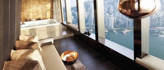Lasciarsi il mondo alle spalle, in una Spa unica.  Hotel The Ritz Carlton, Hong Kong