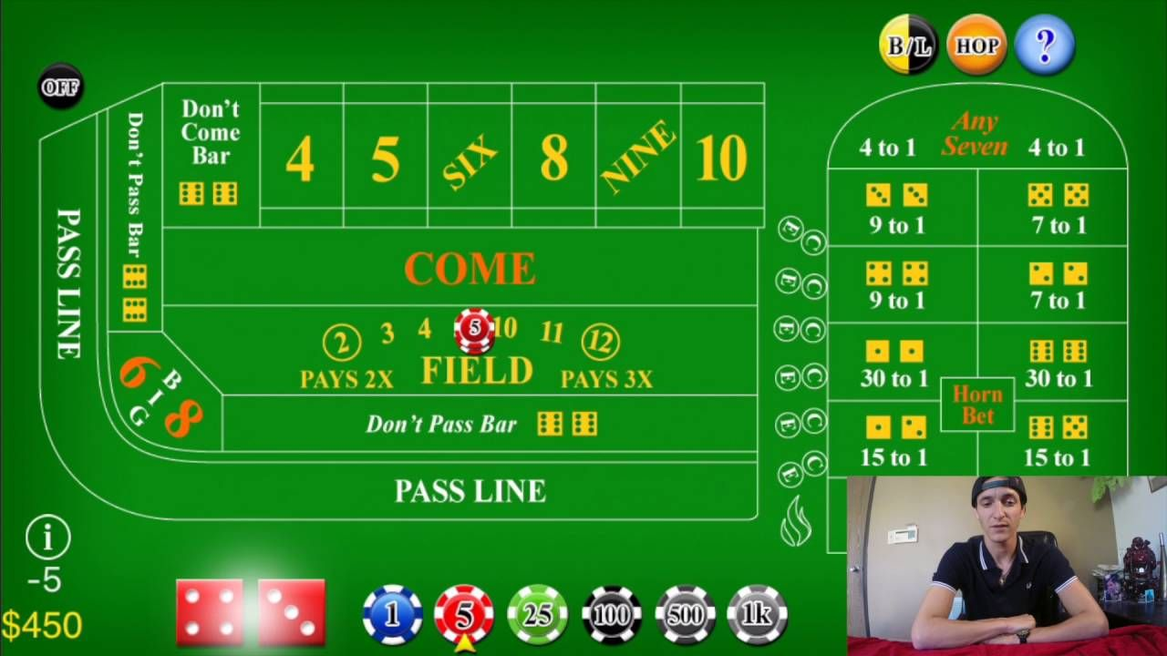 How to win thousands playing craps at casinos craps