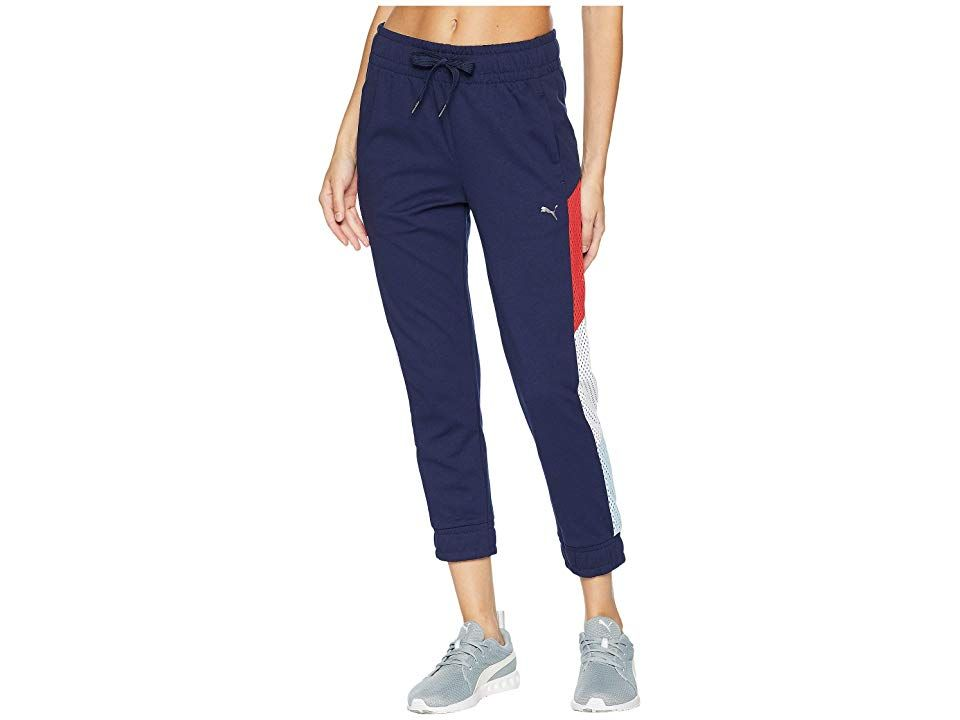 PUMA ACE 78 Sweatpants Peacoat Womens Workout Perfect your training regimen with the PUMA ACE 78 Sweatpants PUMA Lifestyle apparel marries the essence of sports performan...
