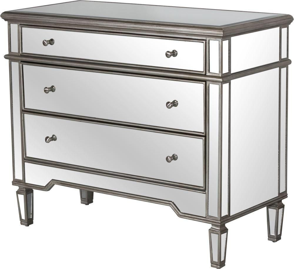 Cary | Dresser design, Dresser with mirror, Mirrored chest