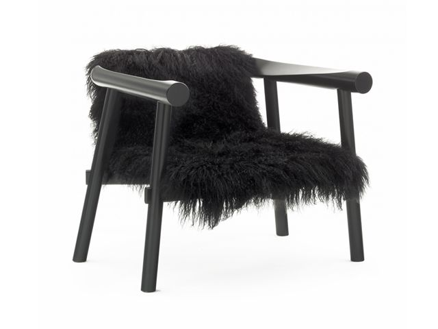 Fauteuil Altay Naturel Design Patricia Urquiola Coedition Black Accent Chair Armchair Coaster Furniture