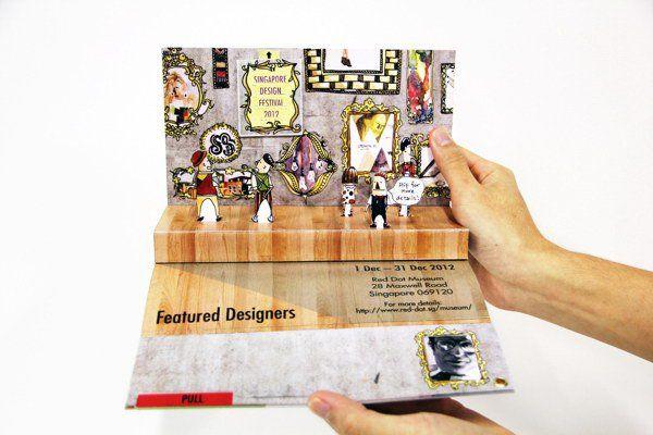 30 cool 3d pop up brochure design ideas brochures 3d for 3d brochure design