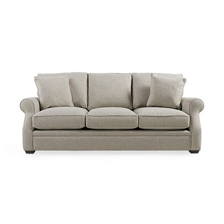 Landsbury 89 Quot Upholstered 3 Over 3 Sofa In Theater