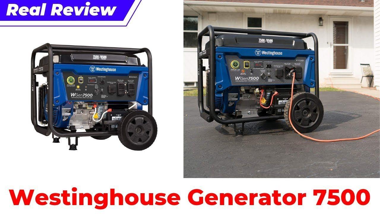 Westinghouse WGen7500 Generator Review 2019 Westinghouse