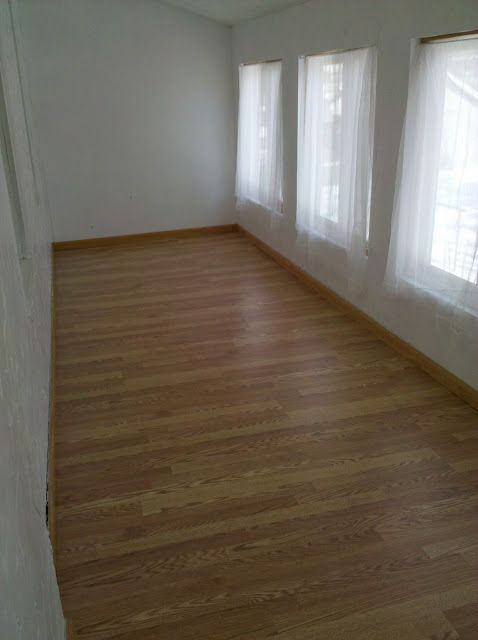 Spare Room Flooring Is Done Diy Steps To Install Laminate Wood