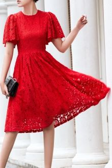 SHARE & Get it FREE | Flutter Sleeve Flared Lace DressFor Fashion Lovers only:80,000+ Items • New Arrivals Daily • FREE SHIPPING Affordable Casual to Chic for Every Occasion Join Dezzal: Get YOUR $50 NOW!