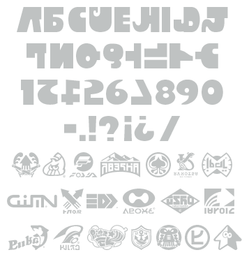 Inkling font by eli | Projects to Try | Splatoon costume
