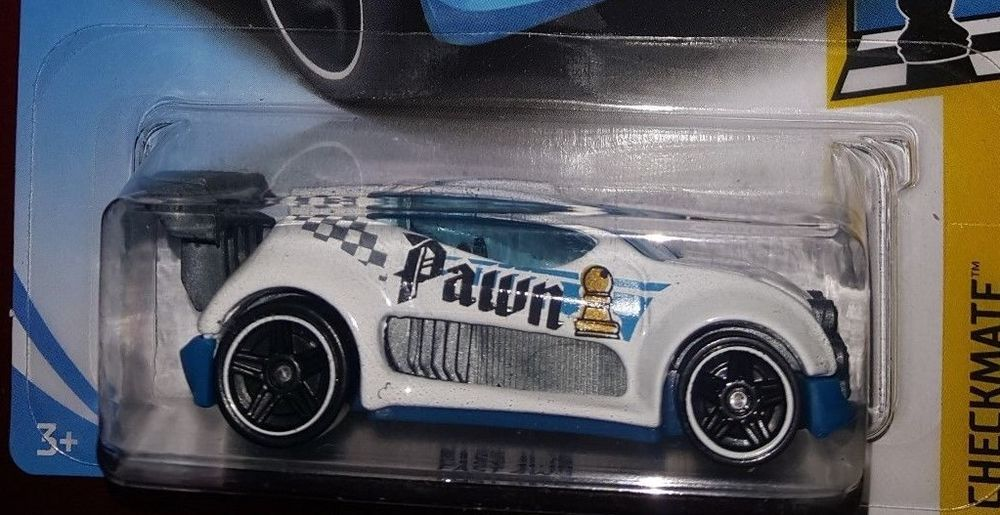 hot wheels 2018 checkmate 6 9 fast 4wd pawn white diecast rh pinterest com