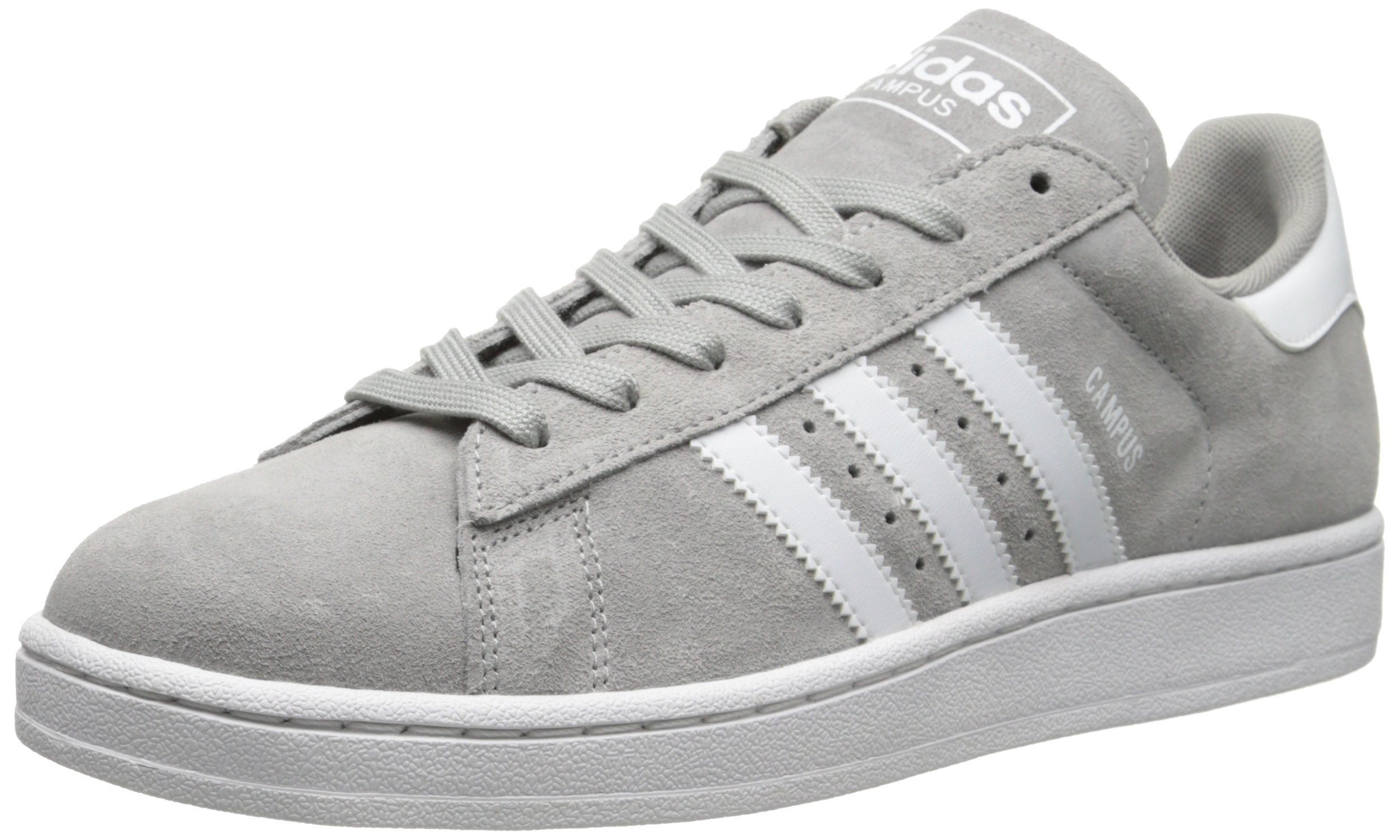 adidas Originals Men's Campus 2 Lifestyle Basketball Shoe, Solid Grey/Running  White/Solid