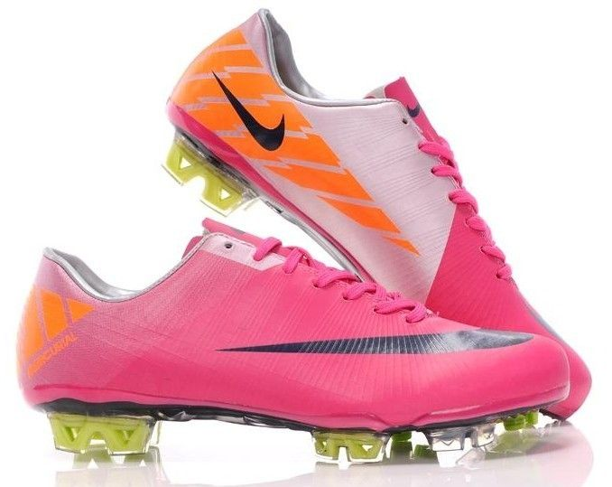 2011 New Stylish Nike Mercurial Vapor Superfly III FG Men's Soccer Cleats In Red Grey Black