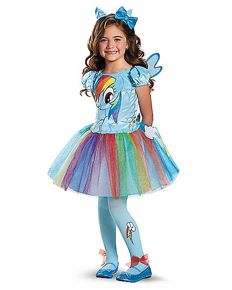 Kids Rainbow Dash Tutu Costume - My Little Pony | Children costumes Rainbow dash and Tutu  sc 1 st  Pinterest : toddler my little pony costume  - Germanpascual.Com