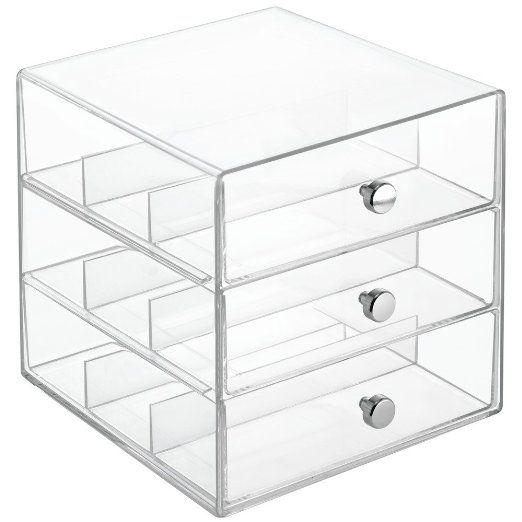 Interdesign Clarity Stackable Organizer Holder For Eyeglasses