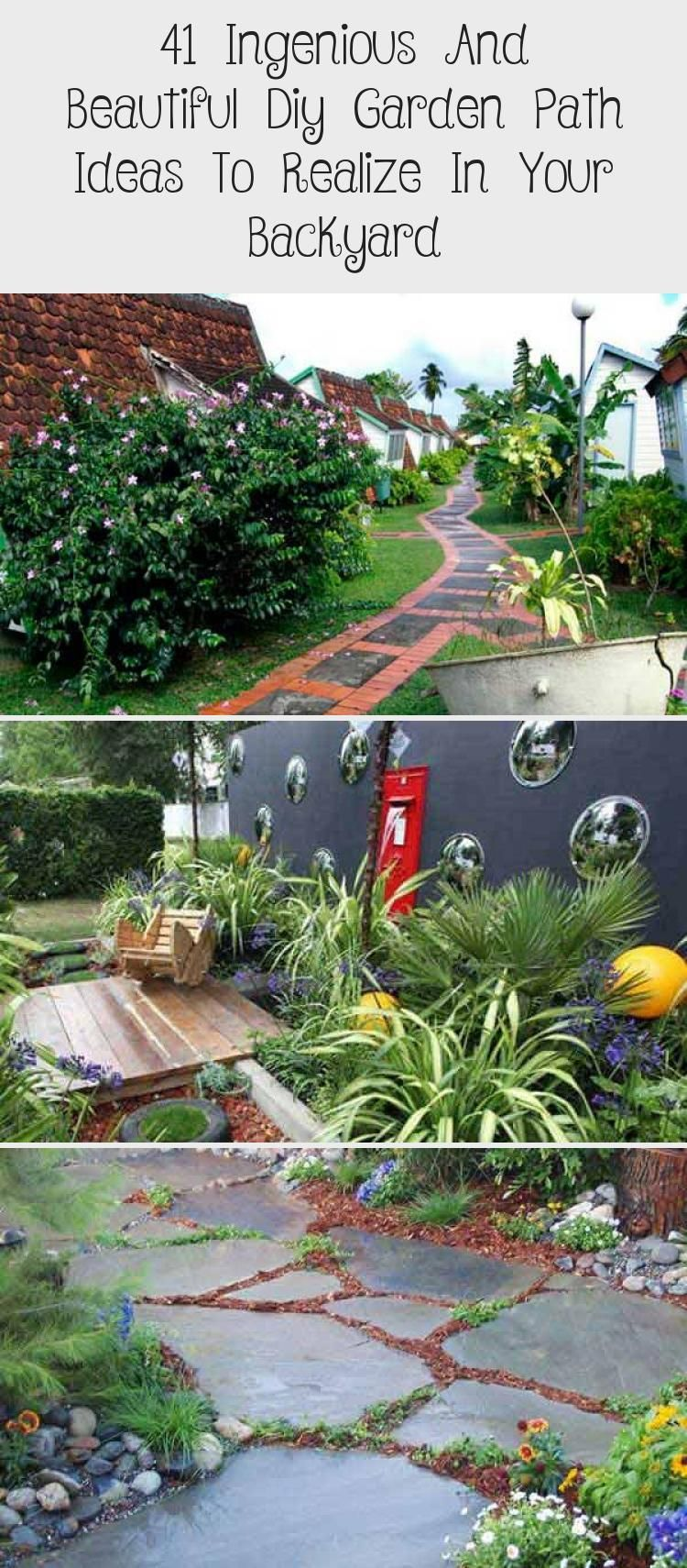 Photo of 41 Ingenious And Beautiful Diy Garden Path Ideas To Realize In Your Backyard – Pinokyo
