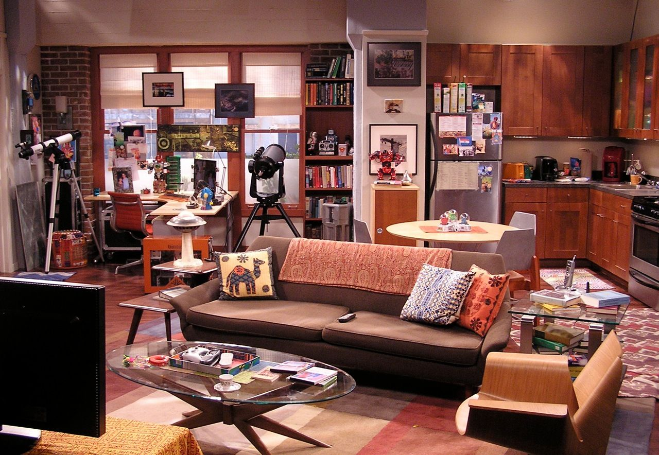Big Bang Theory Set Decorator Ann Shea Sdsa Production Designer  # Muebles Big Bang Theory