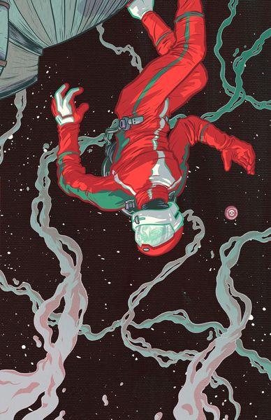 Space Cowboy Art Print