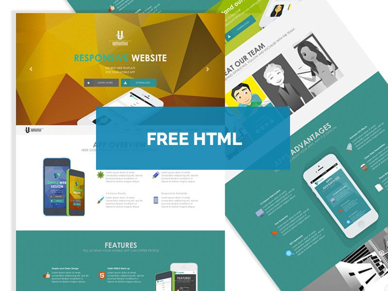 Free - Ophiuchus #HTML5/CSS3 #Template   Free html/css templates ...