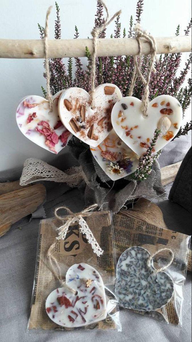 Scented wax sachets Set of 5 Wax tarts Bridal favors | Etsy