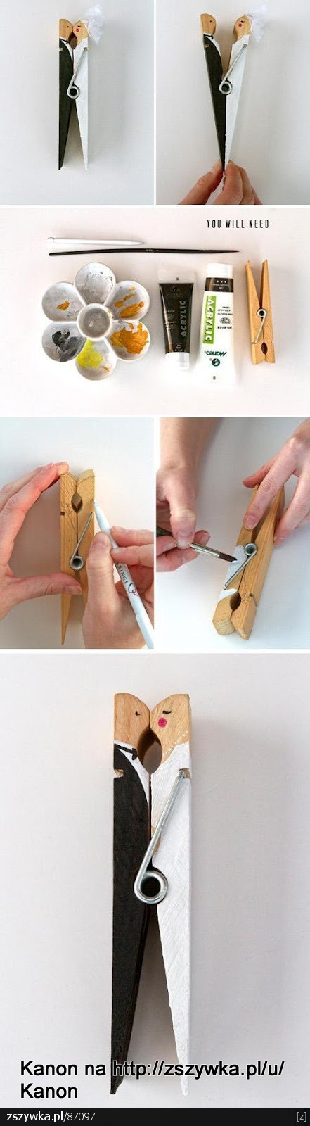 Craft wedding Place card holder idea